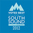Kvinsland Dentistry voted Best Dentist of the South Sound, Best Dentist Gig Harbor, Tacoma, University Place, Port Orchard